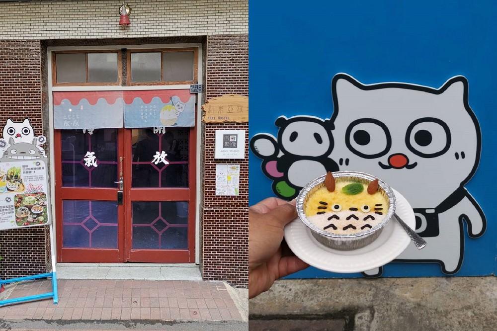 【台南 北區】友·友tomotomo 2號成功店。旅社吃刨冰|富士山、超萌柴犬、龍貓甜點虜獲視覺與味蕾