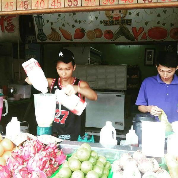 【台南 麻豆】夏日喝消暑也要喝健康。百分百新鮮現打果汁超驚艷!