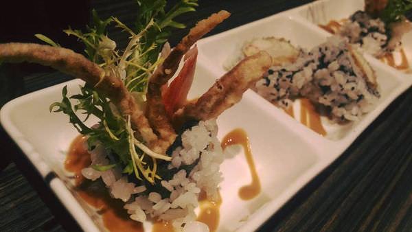 軟殼蟹握壽司
